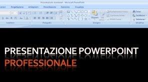 Presentazione professionale Powerpoint