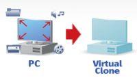 da pc fisico a clone virtuale