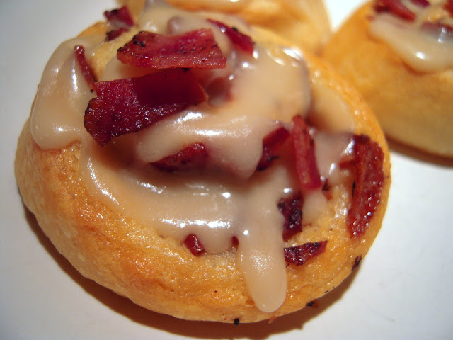 Maple-Bacon Rolls