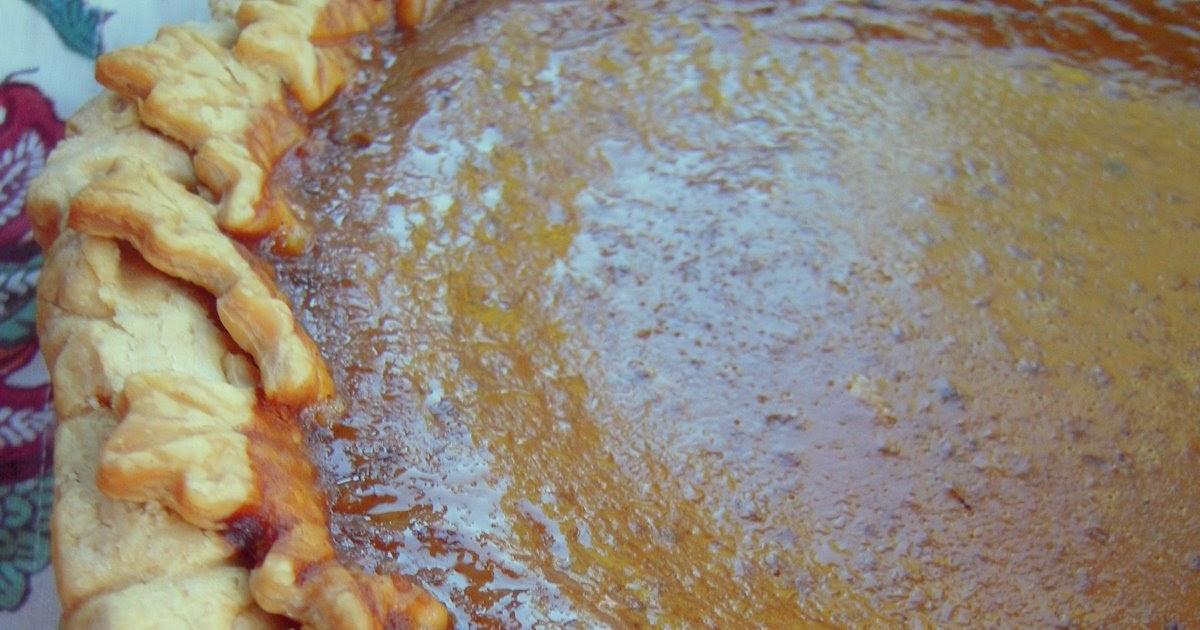 Bourbon-Pecan Pumpkin Butter Pie - Plain Chicken