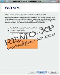 vegas movie studio hd platinum 10.0 keygen