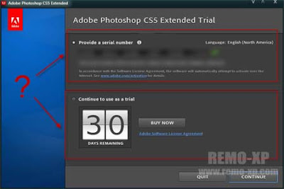 invalid serial photoshop cs5