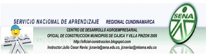 OFICIAL DE CONSTRUCCION VILLA PINZON Y CAJICA