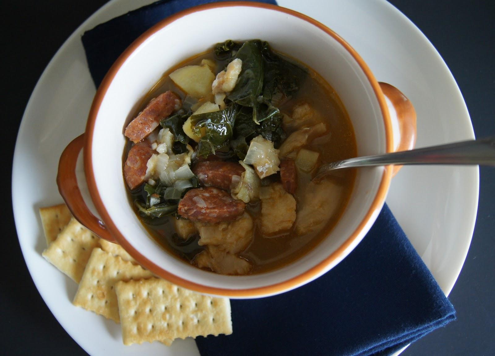 used half the fish to make Portuguese Kale and Salt Cod Chowder. I ...