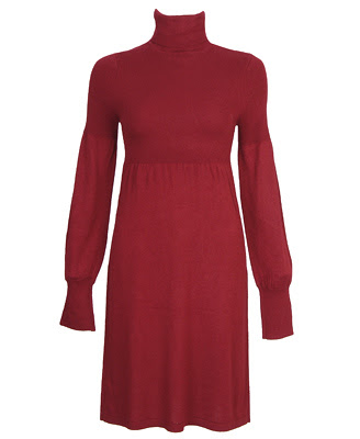 Sweater Dress on Diva S Deals  Red Hot Turtleneck Sweater Dress