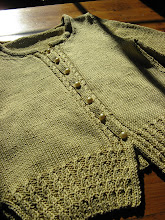 Golden Vintage Cardigan