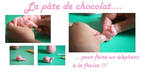La pâte à modeler en chocolat 2