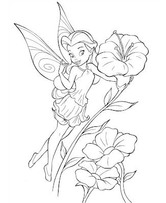 Tinkerbell Coloring Sheets on Tinkerbell Coloring Pages   Coloring