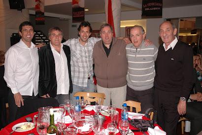 El Profe Blanco, Gugnali, Sabella y Poletti