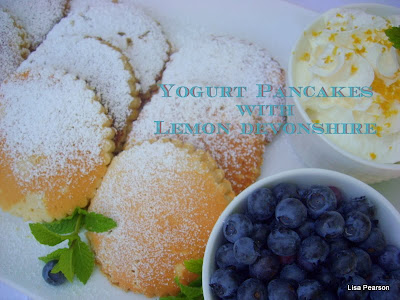 ... ...This. That. And The Other: Yogurt Pancakes with Lemon Devonshire