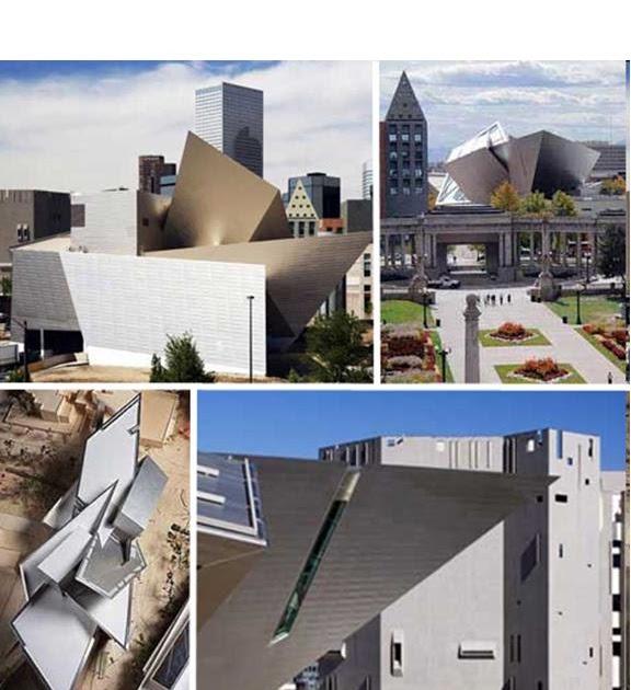 Modern architectural concepts the denver art museum for Denver art museum concept
