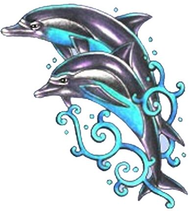 tribal dolphin tattoo. Dolphin Tattoo
