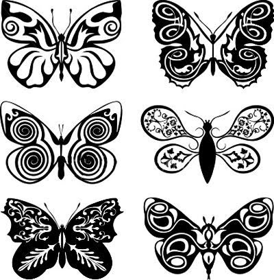 Butterfly Tatoos on Butterfly Tattoo  Album 7    Tattoo Art Gallery