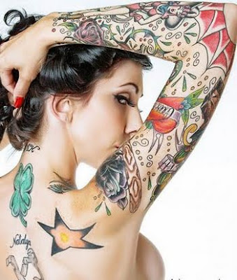 Sexy Tattoo for Sexy Girl