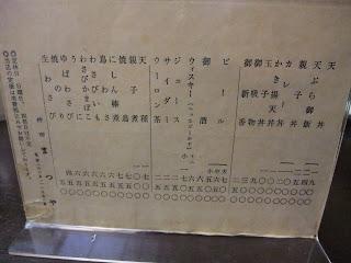 神田まつやの丼物、お酒など飲み物類、酒のつまみメニュー