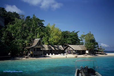 Borneo Divers facility at Pulau Sipadan