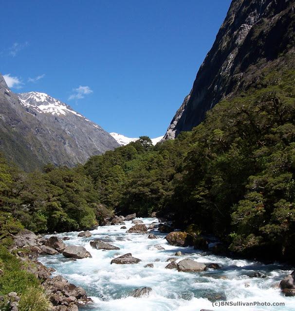 Cascade Creek, New Zealand