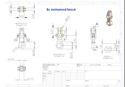 Make 2D drawing from solidworks part - SolidWorks Tutorials