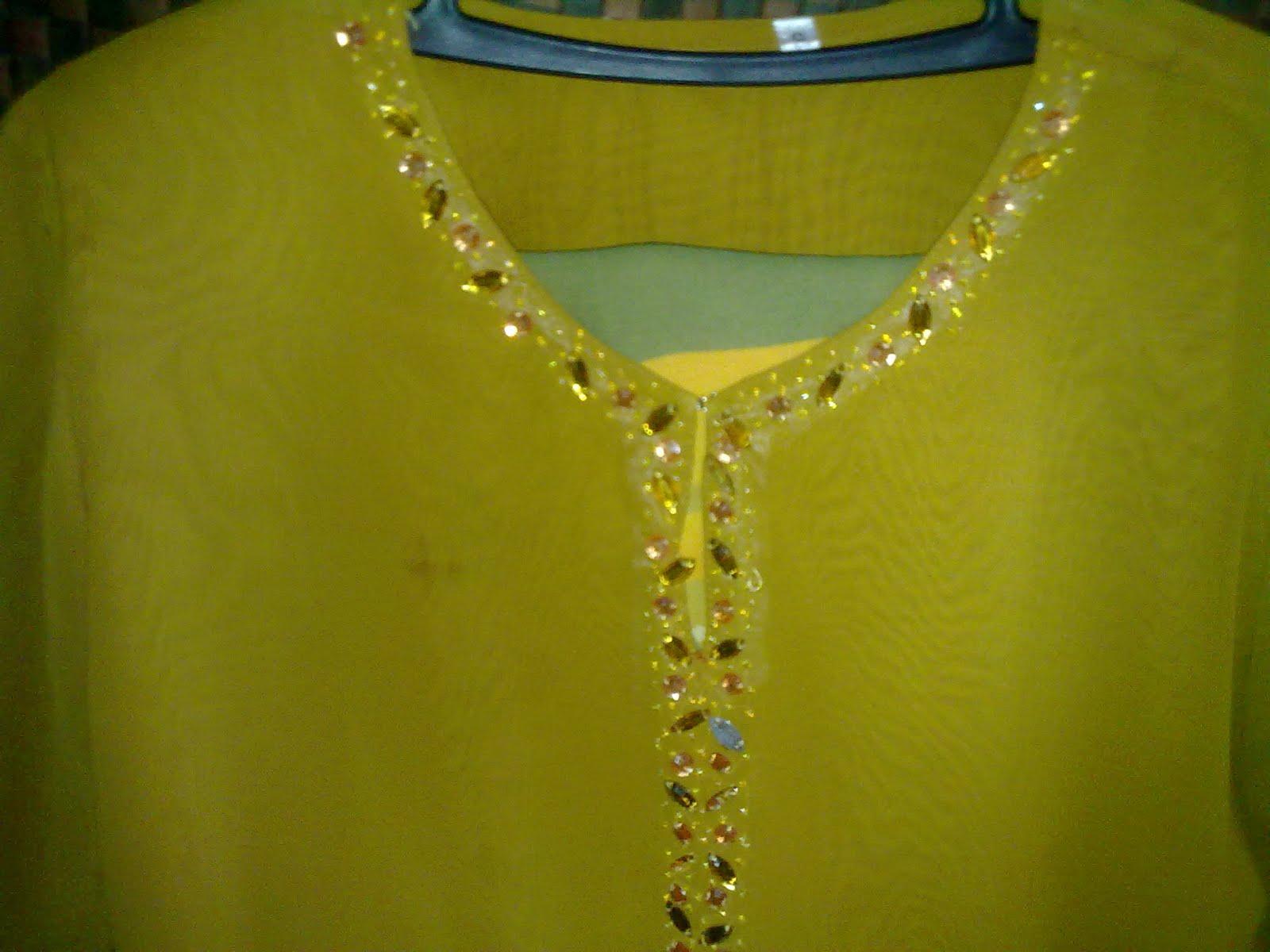 Cara Jahit Manik Di Lengan Baju Kurung | Blog Video Tutorial