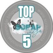 Моя работа в ТОП-5 блога Scrap moda