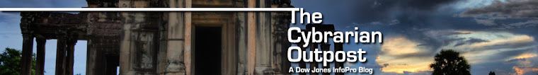 The Cybrarian Outpost - A Dow Jones InfoPro Blog