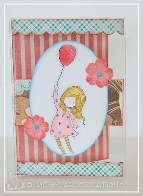 stampcard, scrapcard, scrapbooking, gorjuss girls, 2s4y, sketch, derwent
