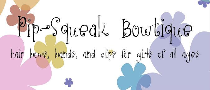 Pip-Squeak Bowtique School Spirit