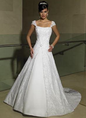Caremon wedding dress