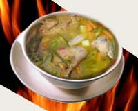 Caldo De Gallina Salvadorena caldo de gallina salvadorena