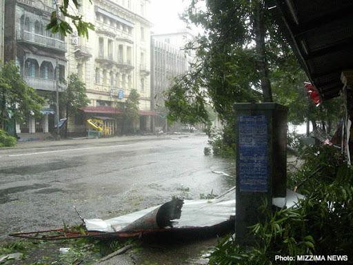 Yangon, Pensodan Rd