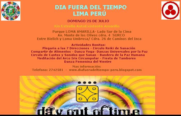 Festival de paz dia fuera del tiempo dia fuera del for Fuera de tiempo