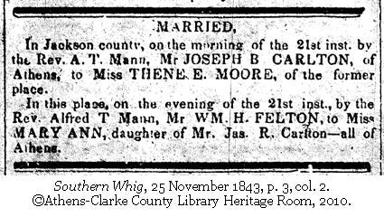 Carlton Moore Wedding Day