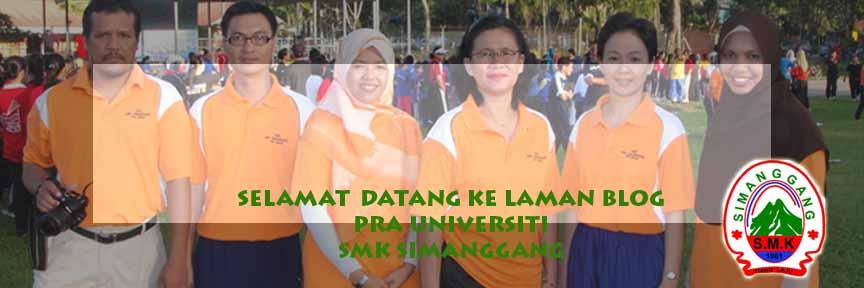 Blog Pra U SMK Simanggang