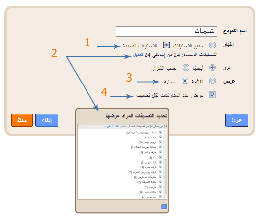tag cloud for blogger سحابة الاوسمة