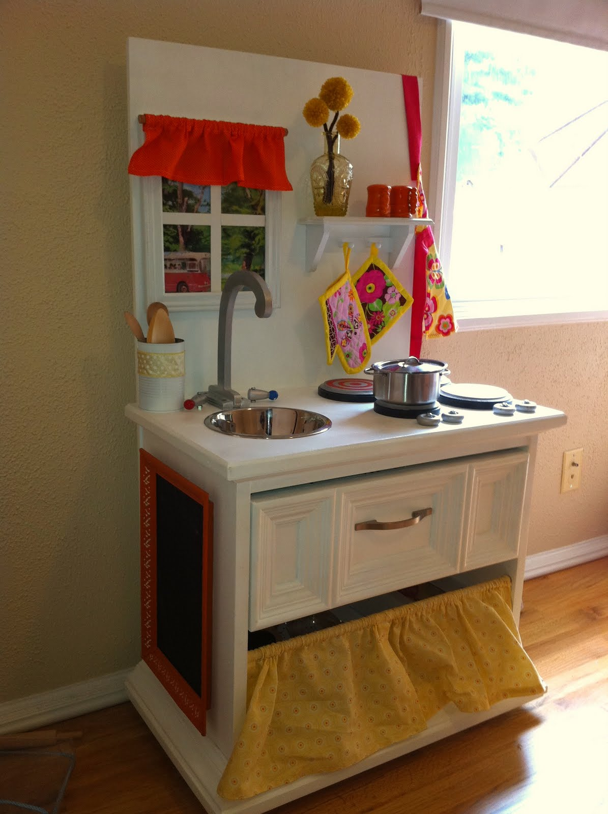 Homemade Play Kitchen The Land Of The Oz Fam Play Kitchen