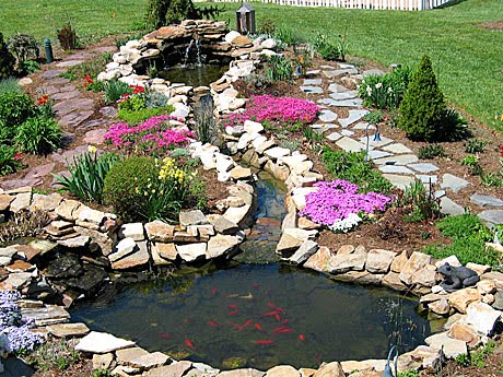 Pond liner blog get inspired by beautiful garden pond for Garden pond supplies