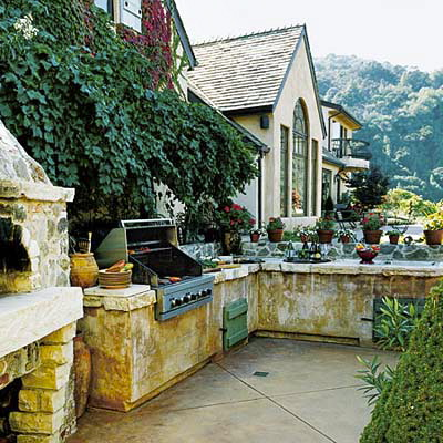 Rustic Outdoor Kitchens