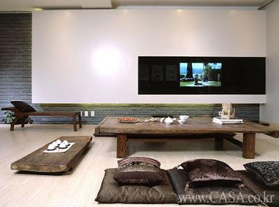 Korean identity korean modern design for Modern korean living room