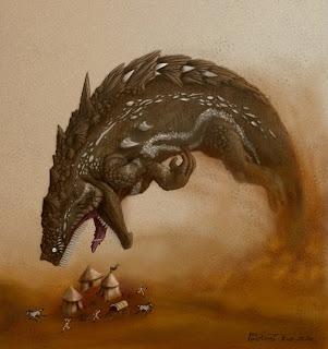 novas criaturas Desert_diver_by_polawat