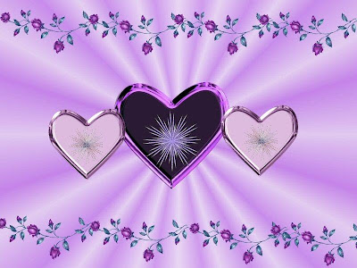 three purple love background wallpapers purple