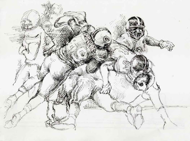 super bowl, american football, wolfgang glechner, NFL, USA, sport, zeichnung, drawing, sports, vikings,quarterback, pittsburg steelers, green bay packers