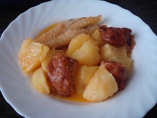 Creando en la cocina guisado de rape con bu uelos de bacalao - Bacalao guisado con patatas ...