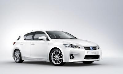 Lexus Release Pr Shots Of Ct 200 Hybrid Hatchback Electric Vehicle