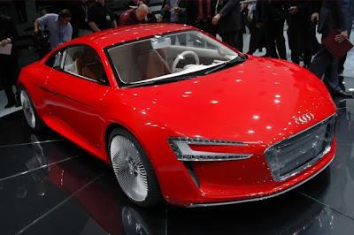 Supercar Showdown Mercedes SLS EV Vs Audi ETron Electric Vehicle - Audi electric cars