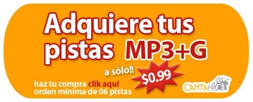 ADQUIERE TUS PISTAS MP3+G