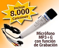 MICROFONO MAGIC MIC II con 8mil canciones