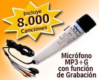 MICROFONO MAGIC MIC II con 8mil canciones