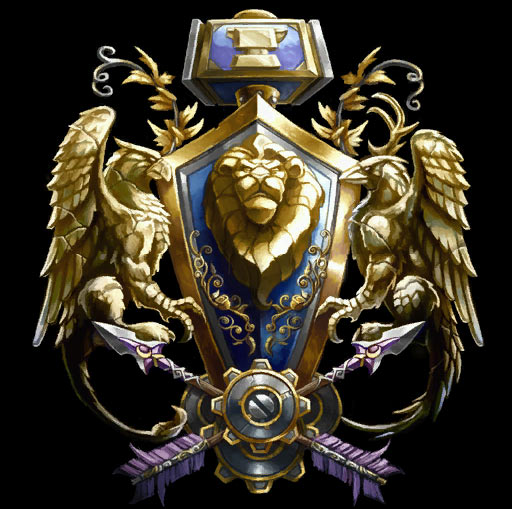 World of Warcraft Alliance-logo-wow-warcraft