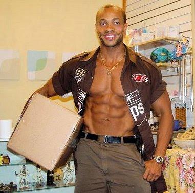 Image result for hot UPS guy