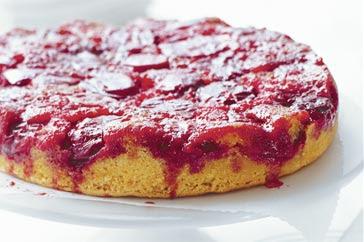 What's For Dinner?: Tuscan Plum Tart (Upside down plum cake)